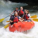 Adventurous Fast Rivers Rafting outpost White water