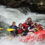 Western North Carolina white water rafting